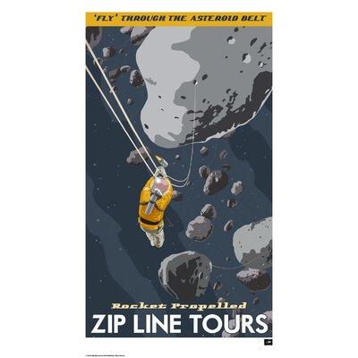 House Additions Retro Futurism Asteroids Vintage Advertisement