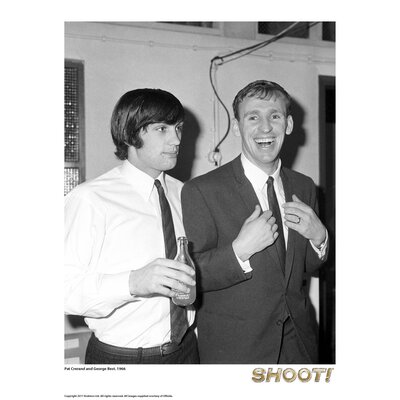 House Additions Shoot 1966 Pat Crerand and George Best Photographic Print
