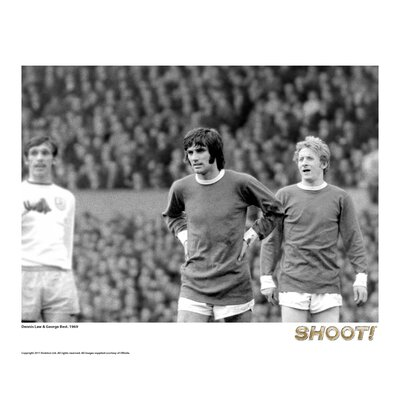 House Additions Shoot 1969 George Best and Denis Law Photographic Print