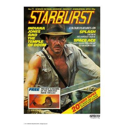House Additions Starburst Indiana Jones Vintage Advertisement