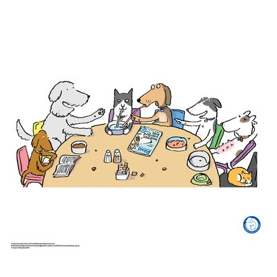 House Additions Battersea Dogs and Cats Home Pooch Café Art Print