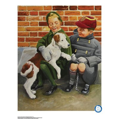 House Additions Battersea Dogs and Cats Home Best Friend Art Print