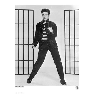 House Additions Elvis Presley 1957 Jailhouse Rock Photographic Print