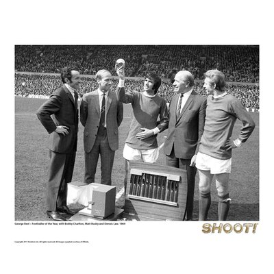 House Additions Shoot 1969 George Best Footballer of the Year Photographic Print