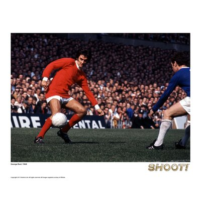 House Additions Shoot 1968 George Best Photographic Print