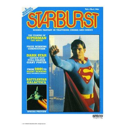 House Additions Starburst Superman Vintage Advertisement