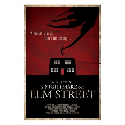 House Additions The Art of Film A Nightmare on Elm Street Vintage Advertisement