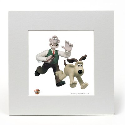 House Additions Wallace and Gromit Walkies Vintage Advertisement