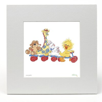 """House Additions Little Suzy's Zoo """"Beep Beep"""" Graphic Art"""