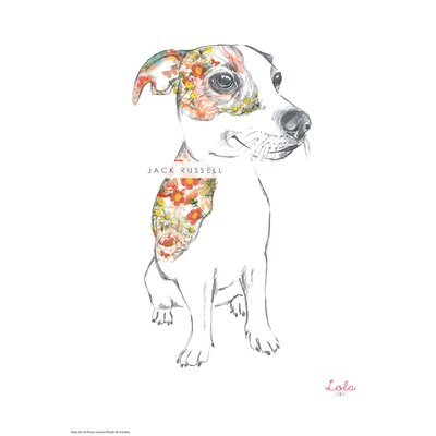 House Additions Dog Prints Jack Russell Art Print