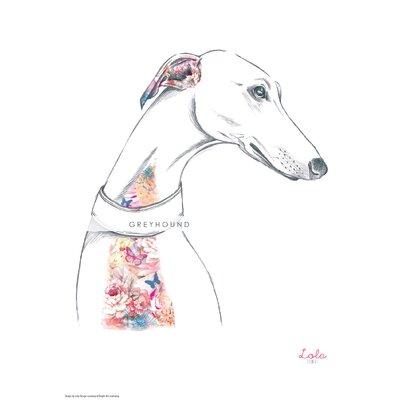 House Additions Dog Prints Greyhound Art Print