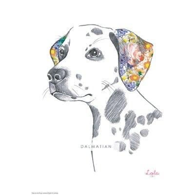 House Additions Dog Prints Dalmation Art Print