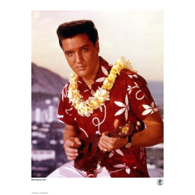 House Additions Elvis Presley 1961 Blue Hawaii Photographic Print