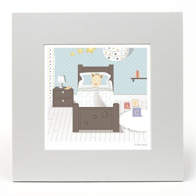 """House Additions Sophie La Girafe """"Bedtime"""" Graphic Art"""