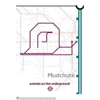 House Additions Animals on the Underground Mudchute Graphic Art