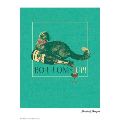 House Additions Trinkets and Trumpets Bottoms Up Graphic Art
