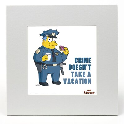 """House Additions The Simpsons """"Chief"""" Graphic Art"""