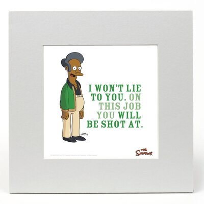 "House Additions The Simpsons ""Apu"" Graphic Art"