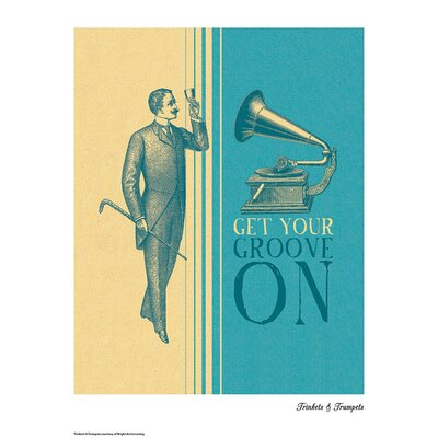 House Additions Trinkets and Trumpets Get Your Groove On Graphic Art