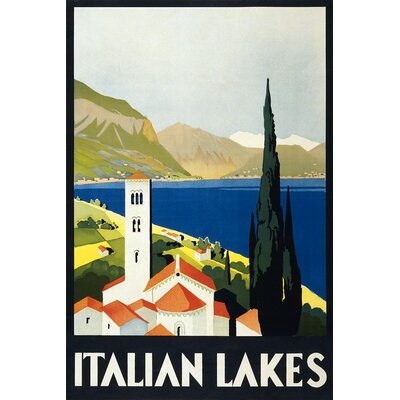 House Additions Vintage Travel Italian Lakes Vintage Advertisement