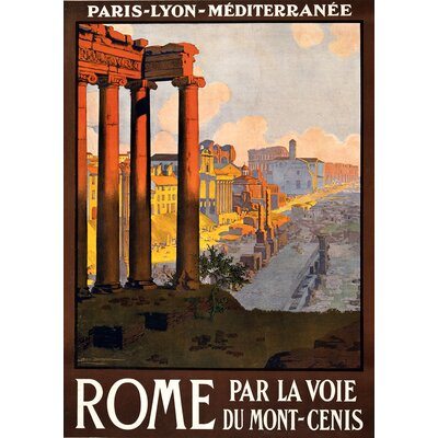 House Additions Vintage Travel Rome Vintage Advertisement