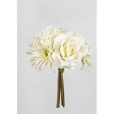House Additions Velvet Chrysanthemum and Rose Bunch