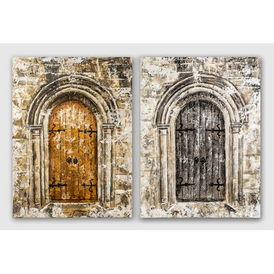 House Additions Baeza Graphic Art on Canvas