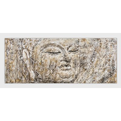 House Additions Buddha Graphic Art on Canvas