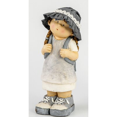House Additions Girl Statue