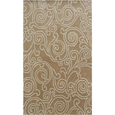 House Additions Divya Hand-Tufted Brown Area Rug