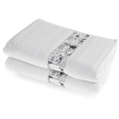 House Additions ComicMoominmamma Cotton Bath Towel