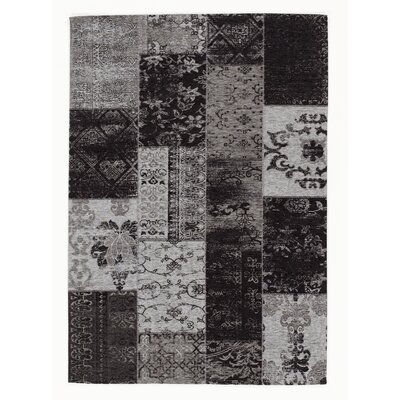 House Additions Rosmore Velour Grey Area Rug