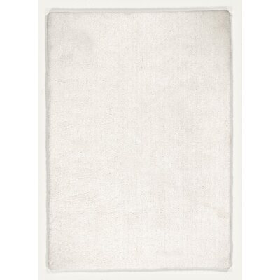 House Additions Hand-Tufted White Area Rug