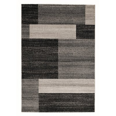 House Additions Bunt Grey Area Rug