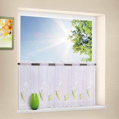 House Additions Dandelion Bistro Curtain