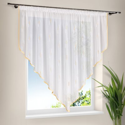 House Additions Ella Pointed Curtain