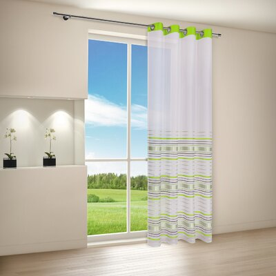 House Additions Lena Eyelet Curtain