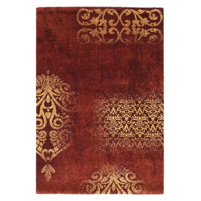 House Additions Red/Beige Area Rug