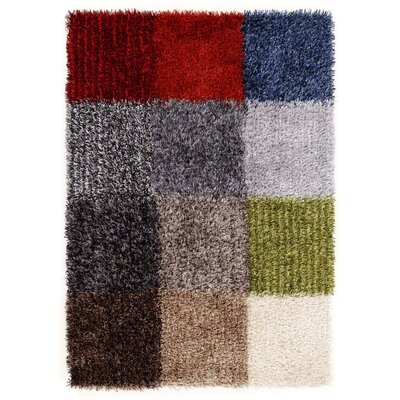 House Additions Handmade Colourful Area Rug