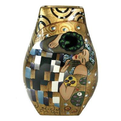 House Additions The Kiss Porcelain Vase