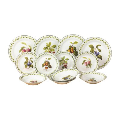 House Additions Fruit Orchard 12-Piece Dinnerware Set