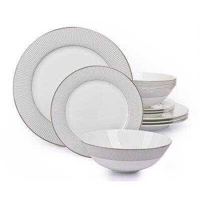 House Additions Portland 12-Piece Dinnerware Set