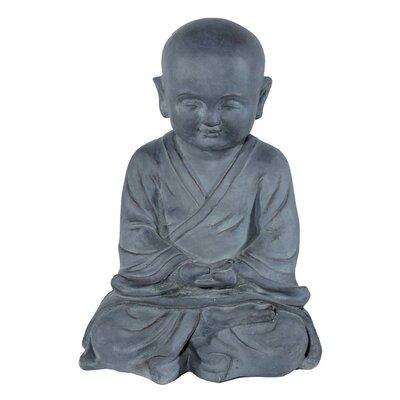 House Additions Meditating Monk Decorative Figure
