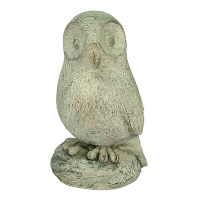 House Additions Barn Owl Decorative Figure