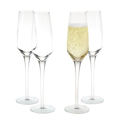 House Additions 0.2 L Champagne Glass Set