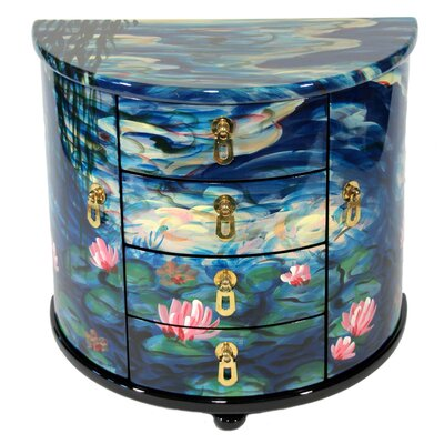 House Additions Water Lilies Jewellery Case