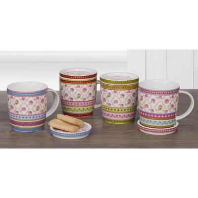 House Additions Roses Cup Set