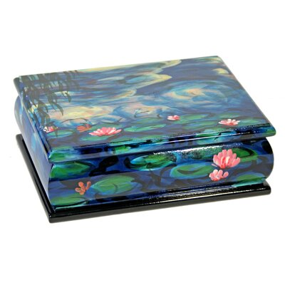 House Additions Water Lilies Jewellery Box