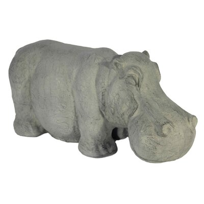House Additions Standing Hippo Decorative Figure