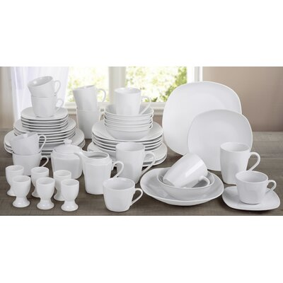 House Additions 50-Piece Dinnerware Set